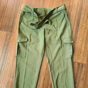 LOFT Slim Tie Waist Cargo Pants